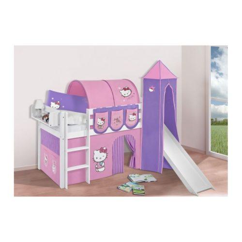 comprar cama bali con tobogan cortinas hello kitty lila y somier