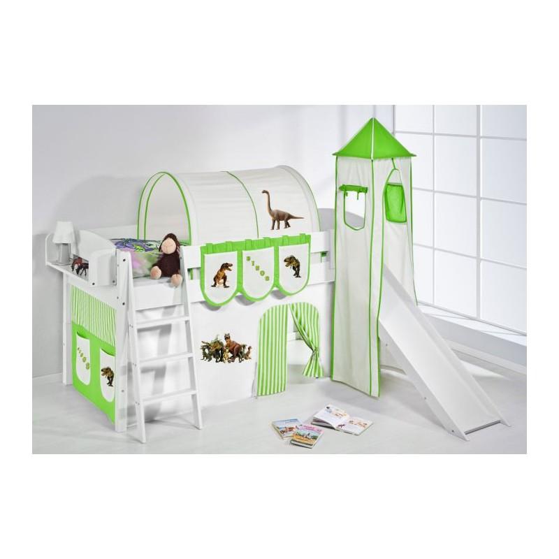 Camas con tobogan para nios beautiful cama semi alta - Tobogan infantil ikea ...