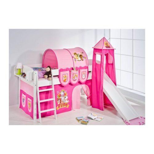 comprar cama corcega con tobogan cortinas filly y somier