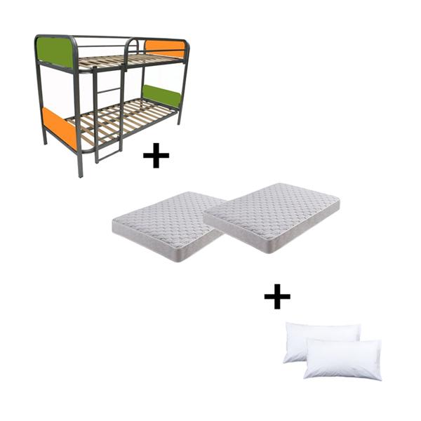 Venta de packs de somieres, literas o carros con colchones y almohadas