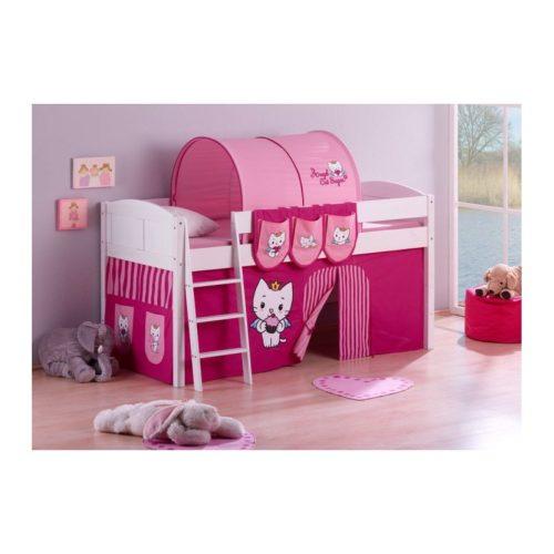 comprar cama corcega con cortinas angel cat sugar y somier