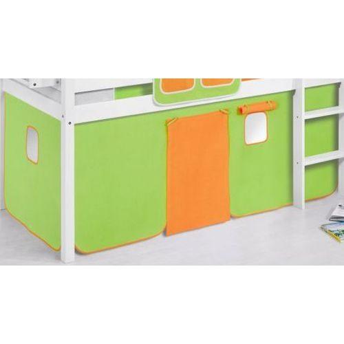 comprar cortina naranja verde