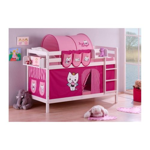 comprar litera angel cat sugar con cortinas y somieres