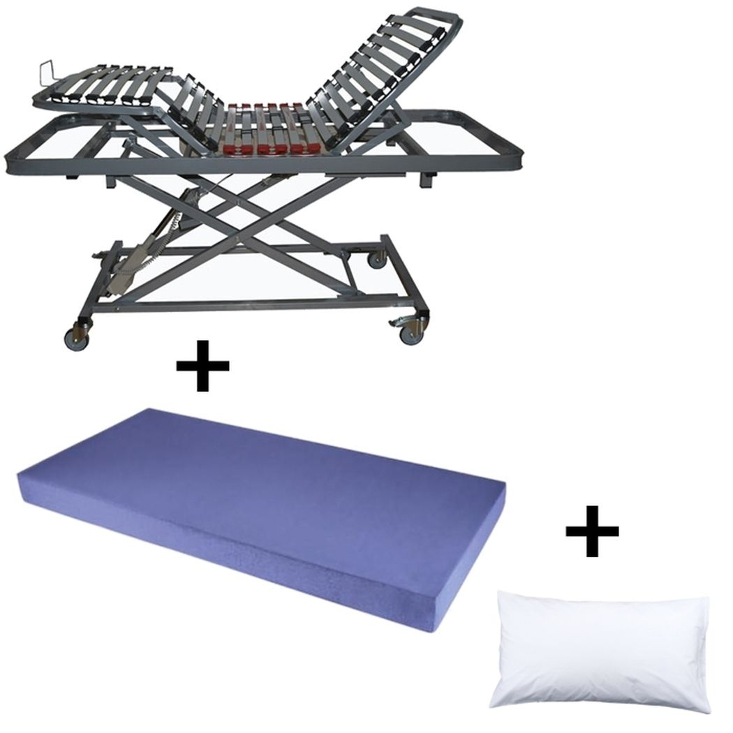 comprar packs comprar pack carro elevador ortopedico dublin colchon sanimax regalo almohada fibra