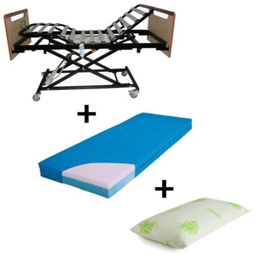 comprar packs comprar pack carro elevador ortopedico roma colchon viscoplus regalo almohada viscoelastica